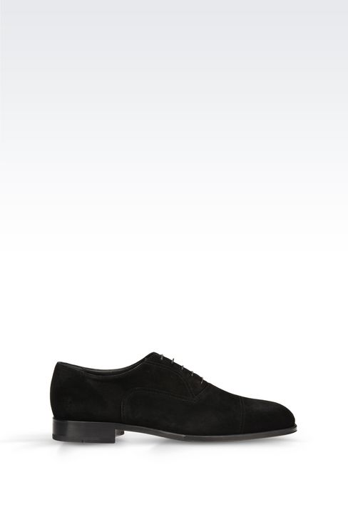 SUEDE BROGUE: Lace-up shoes Men by Armani - 1