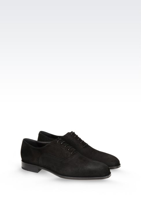 SUEDE BROGUE: Lace-up shoes Men by Armani - 2