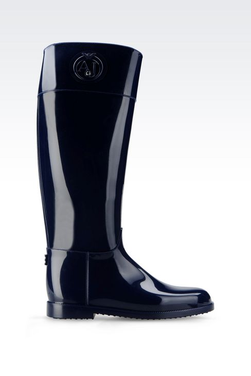 RUBBER RAIN BOOT: Rainboots Women by Armani - 1
