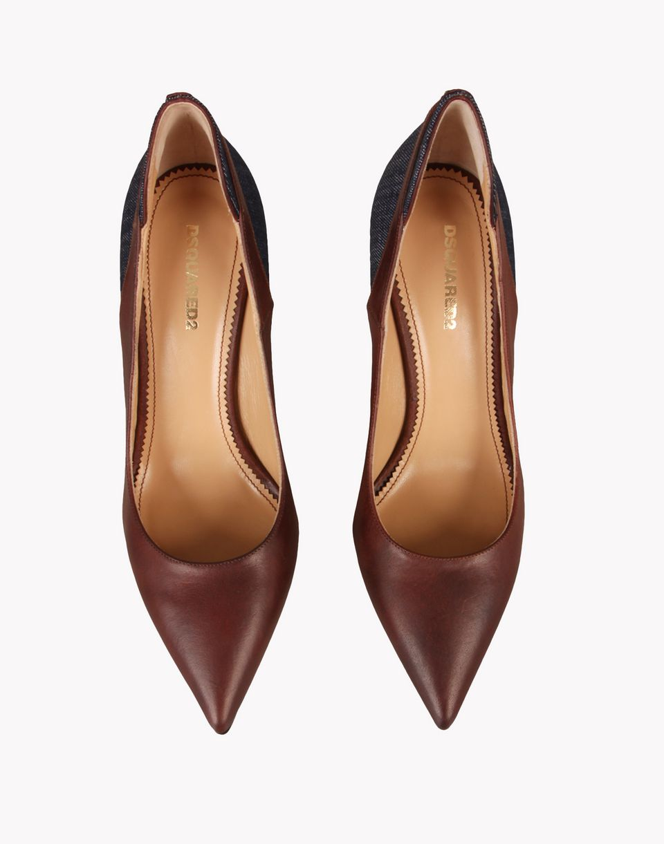 bat pumps shoes Woman Dsquared2