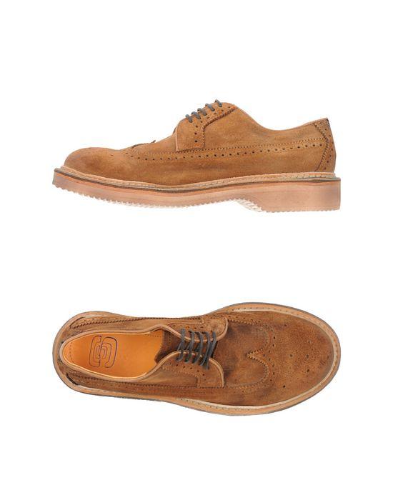 Обувь на шнурках ESSEUTESSE. Цвет: верблюжий