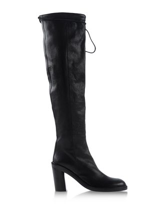 ANN DEMEULEMEESTER Bottes et bottines Cuissardes on shoescribe.com