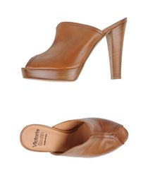 VICTORIA SMITH - Open-toe mule
