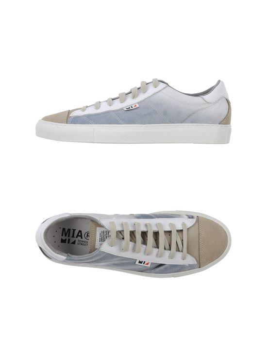 Низкие кеды и кроссовки MIA. Цвет: светло-серый