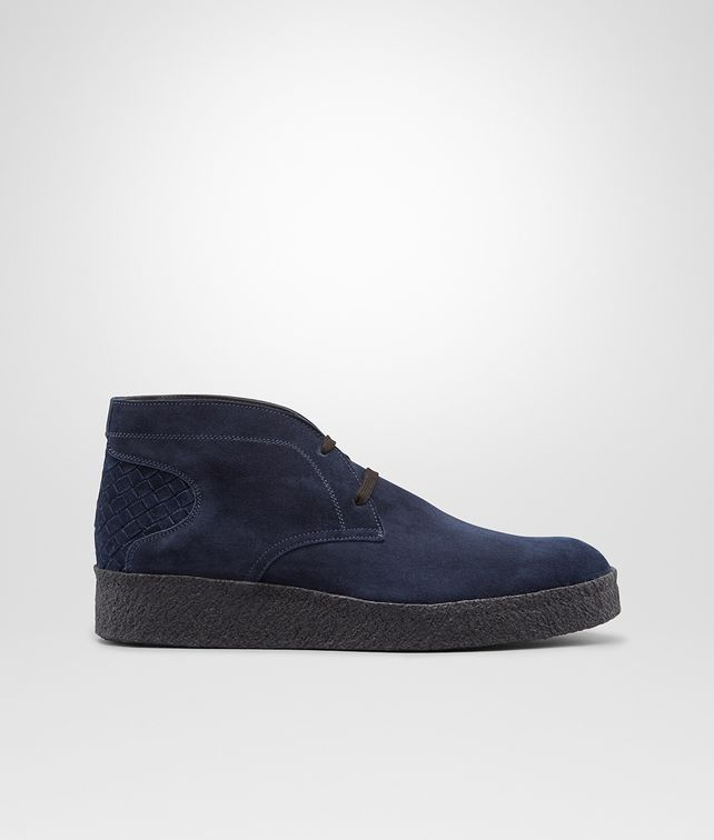 Prusse Intrecciato Suede Ankle Boot