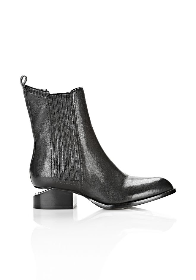 ALEXANDER WANG ANOUCK BOOT WITH RHODIUM
