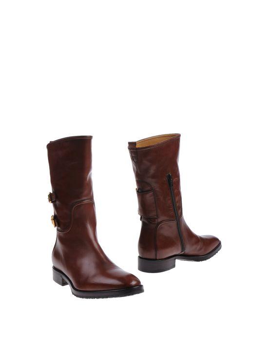 Полусапоги и высокие ботинки BERTO GIANTIN. Цвет: коричневый