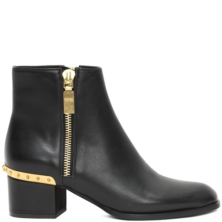 Alexander McQueen, Metal Counter Ankle Boot