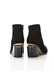 ALEXANDER WANG GABI SUEDE BOOTIE WITH RHODIUM  BOOTS Adult 8_n_e