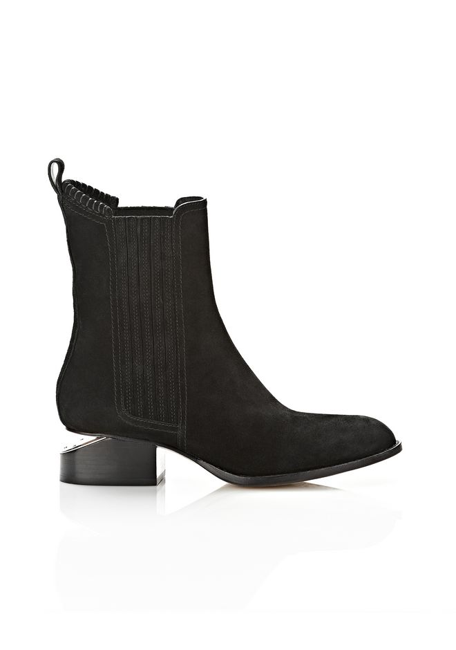 ALEXANDER WANG Boots Women ANOUCK SUEDE BOOT WITH NICKEL