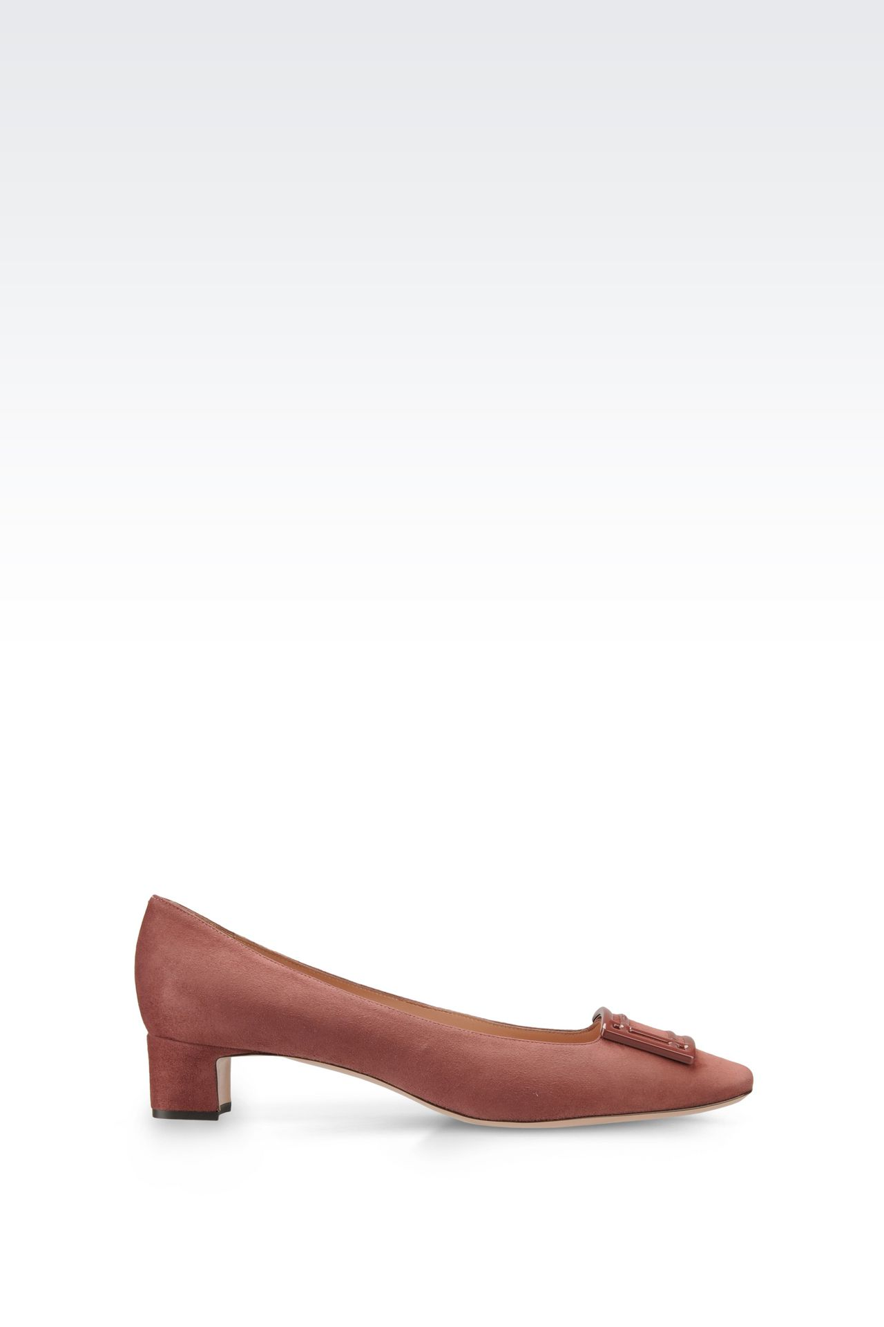 SUEDE PUMP: Pumps Women by Armani - 0