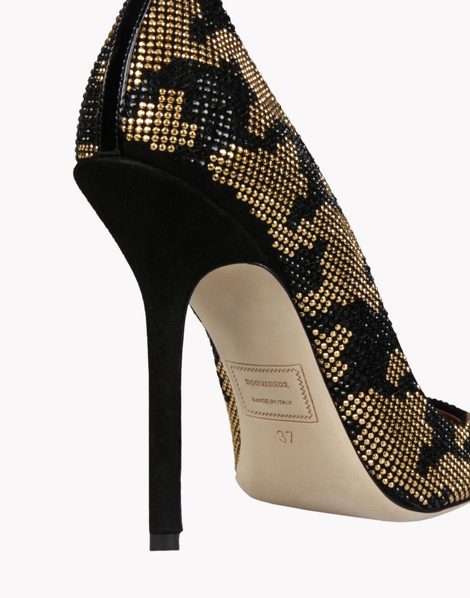 sparkle pumps shoes Woman Dsquared2