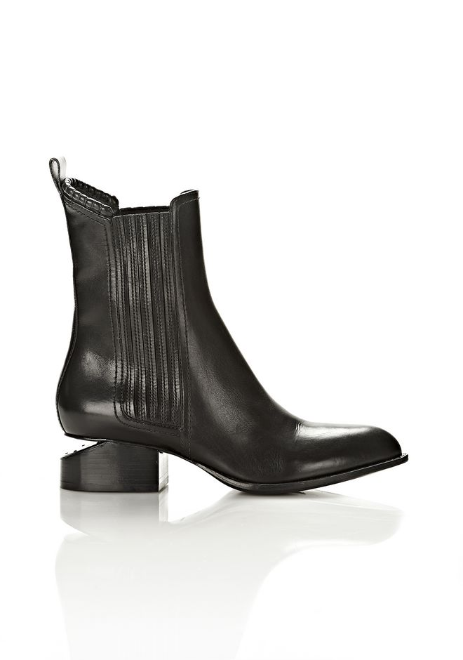 ALEXANDER WANG ANOUCK BOOT WITH MATTE BLACK  BOOTS Adult 12_n_f