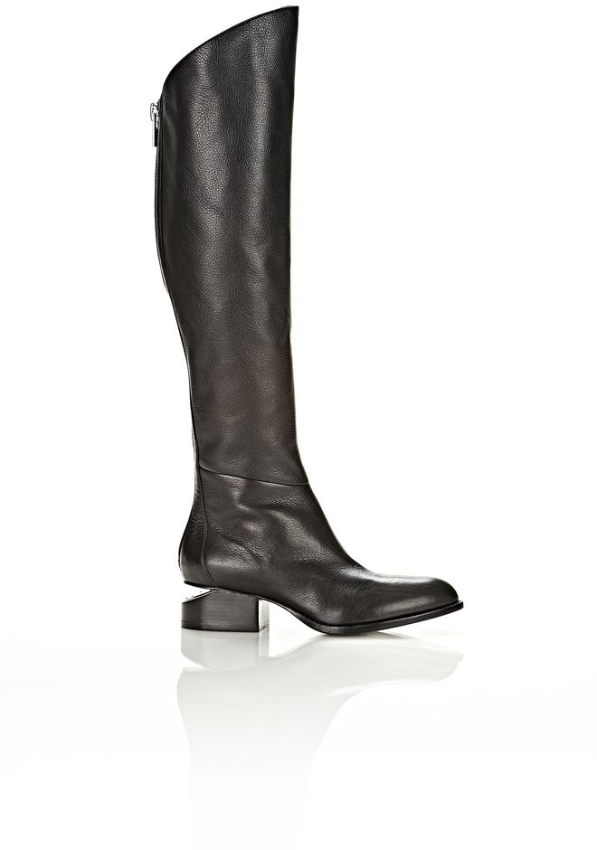 ALEXANDER WANG SIGRID BOOT WITH NICKEL