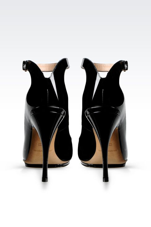RUNWAY PUMP IN PATENT: Heeled pumps Women by Armani - 3