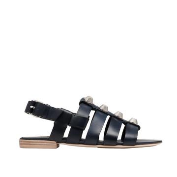 Balenciaga Giant Silver Sandals