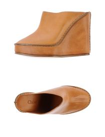 CHLOÉ - Open-toe mule