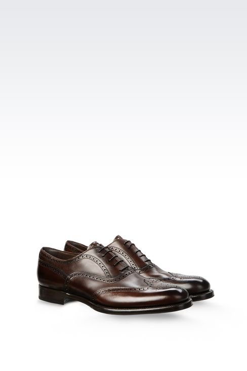 CLASSIC CALFSKIN BROGUE: Lace-up shoes Men by Armani - 2