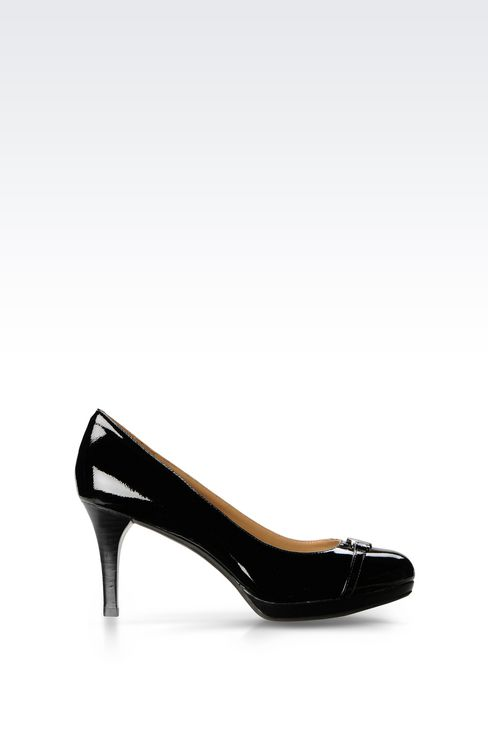 PATENT PUMP: Closed-toe slip-ons  Women by Armani - 1