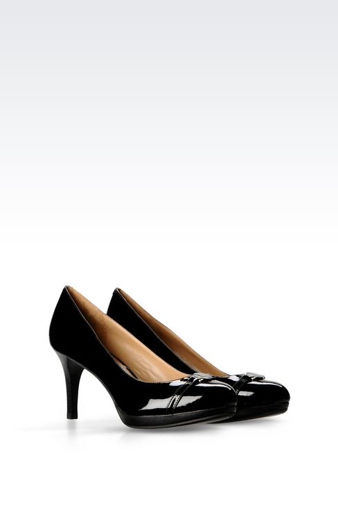PATENT PUMP: Closed-toe slip-ons  Women by Armani - 2