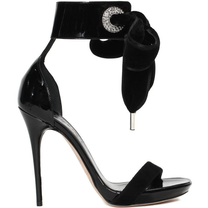 Alexander McQueen, Ankle Wrap Skinny Sandal
