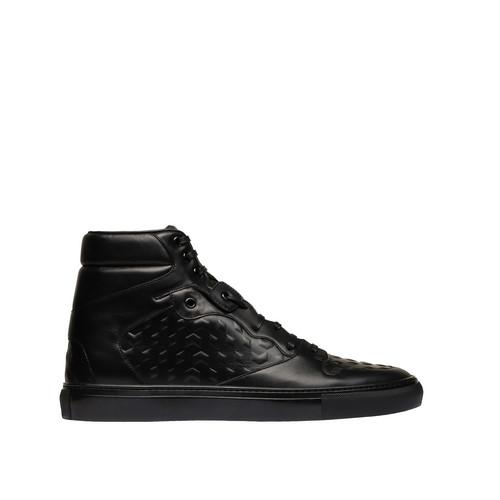 Balenciaga Monochrome High Sneakers