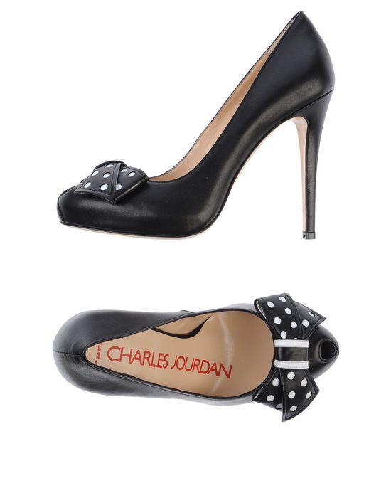 Туфли CHARLES JOURDAN. Цвет: черный