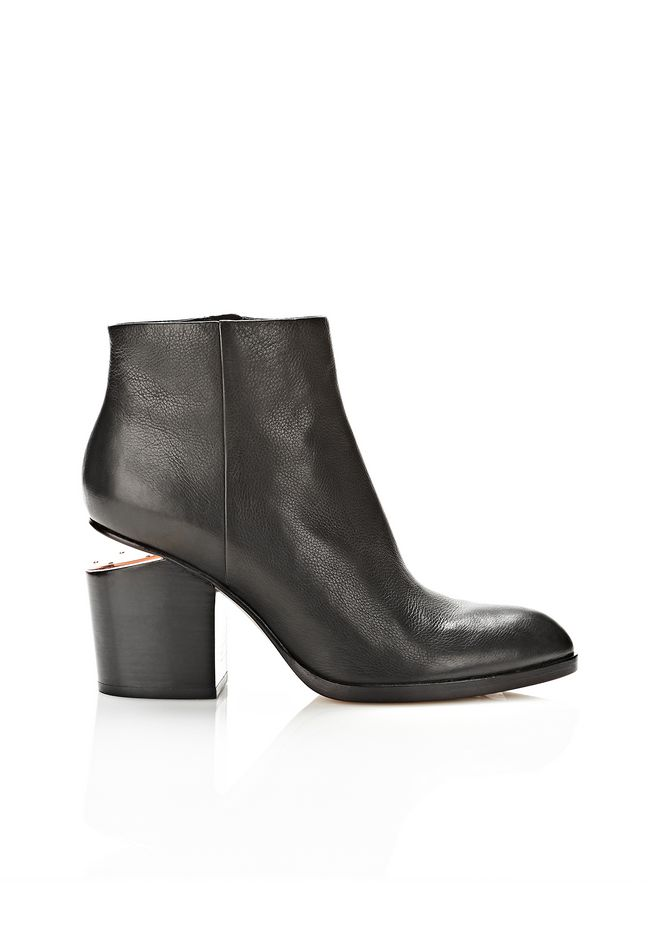 ALEXANDER WANG GABI BOOTIE WITH ROSE GOLD