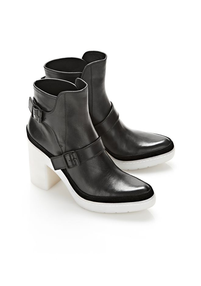 ALEXANDER WANG SEYMONE ANKLE BOOTIE BOOTS Adult 12_n_r
