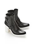 ALEXANDER WANG SEYMONE ANKLE BOOTIE BOOTS Adult 8_n_r