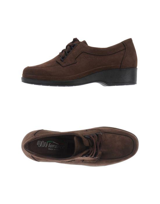 Обувь на шнурках FLORANCE. Цвет: темно-коричневый
