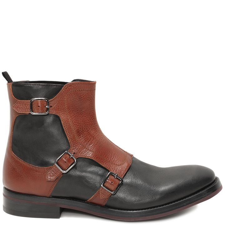Alexander McQueen, Gable 3 Buckle Boot