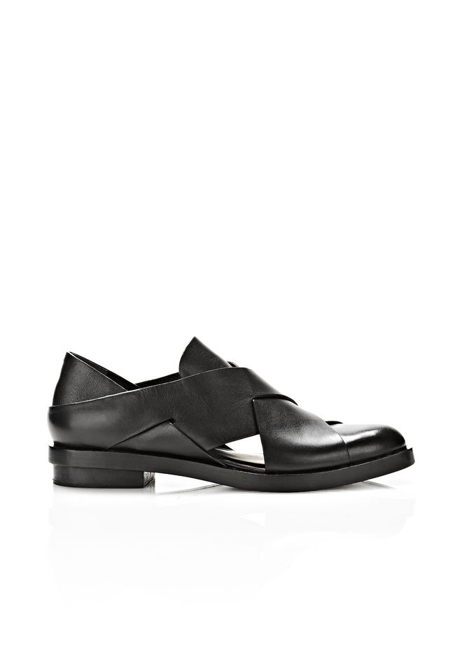 ALEXANDER WANG MORGAN CUT OUT OXFORD FLATS Adult 12_n_f