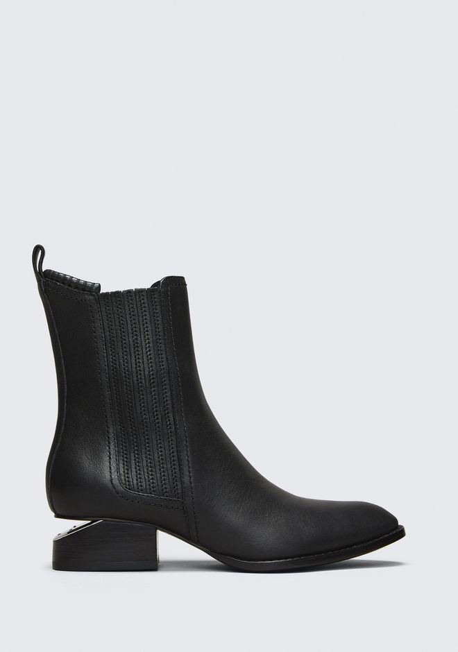 ALEXANDER WANG Boots Women ANOUCK BOOT WITH RHODIUM