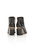 ALEXANDER WANG GABI BOOTIE WITH RHODIUM BOOTS Adult 8_n_e