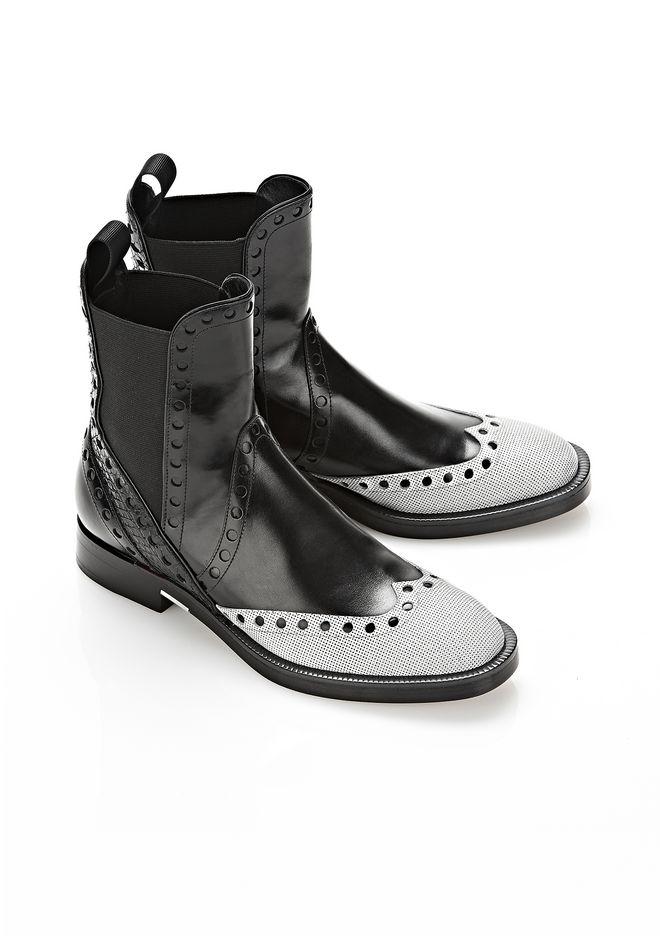 ALEXANDER WANG NICOLE BROGUE BOOT BOOTS Adult 12_n_r