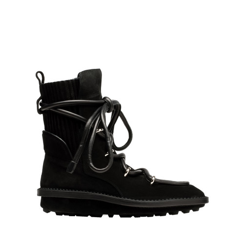 Balenciaga Snow Lace up Boots