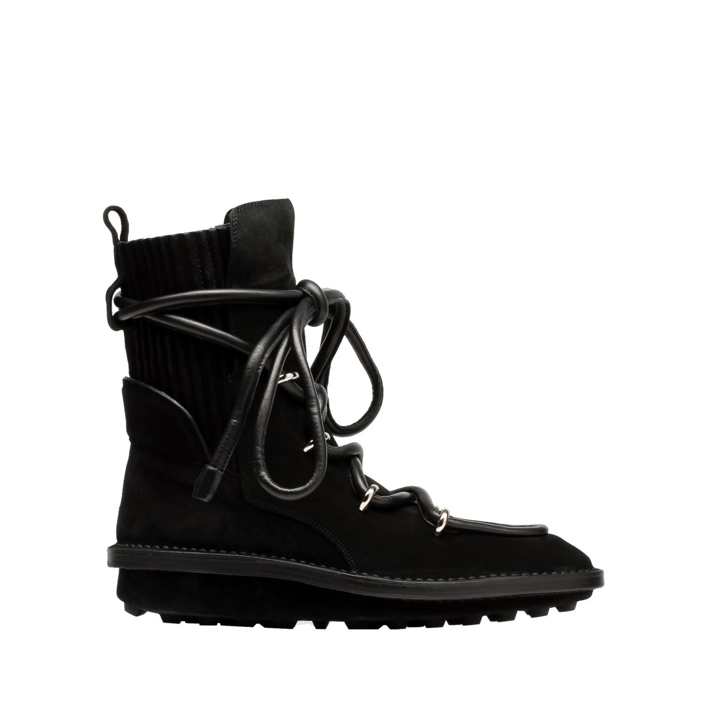 balenciaga balenciaga snow lace up boots s ankle