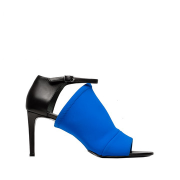 Balenciaga Rift Open Toe Pumps