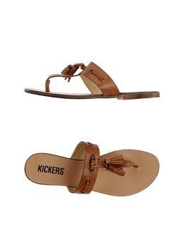 Thong sandals - KICKERS
