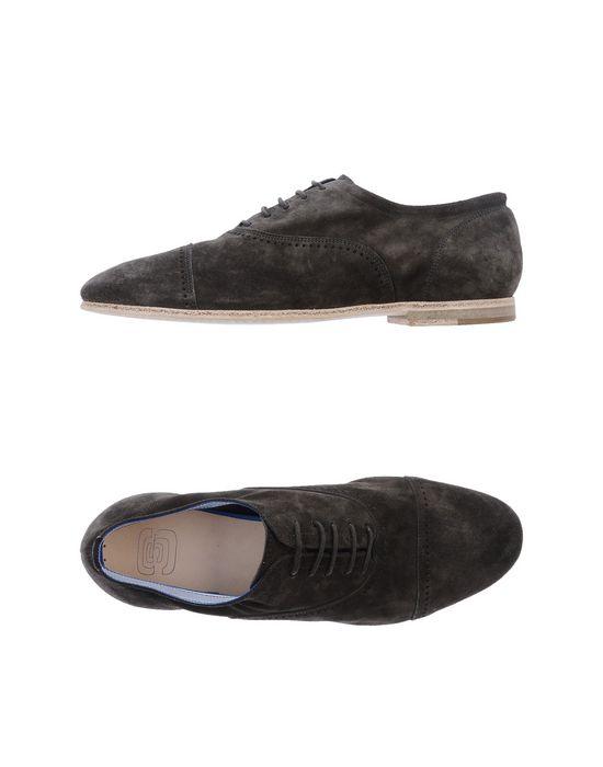 Обувь на шнурках ESSEUTESSE. Цвет: свинцово-серый