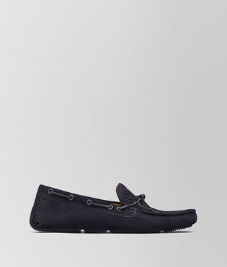 WAVE DRIVER IN DARK NAVY INTRECCIATO SUEDE