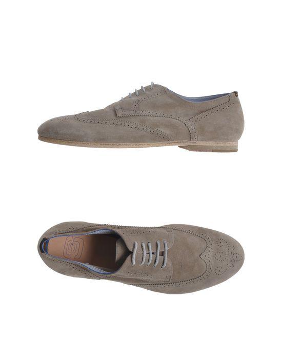 Обувь на шнурках ESSEUTESSE. Цвет: серый