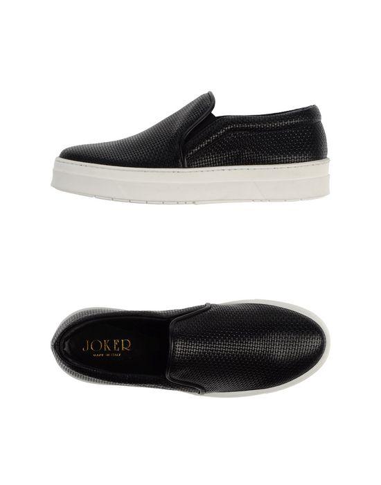 Низкие кеды и кроссовки JOKER. Цвет: черный