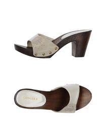 CESARE P. - Open-toe mule