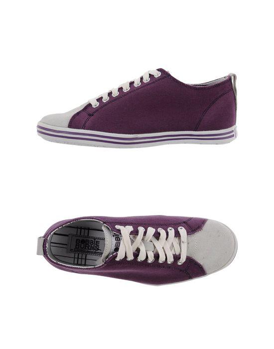 Низкие кеды и кроссовки BOBBIE BURNS. Цвет: фиолетовый