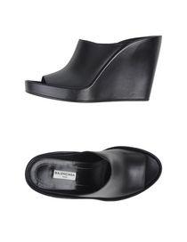 BALENCIAGA - Open-toe mule