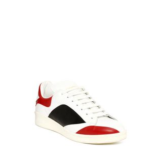 ALEXANDER MCQUEEN, Sneakers, Abstract Leather Low Top Sneaker