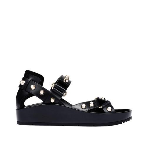 Balenciaga Classic Strap Flat Sandals