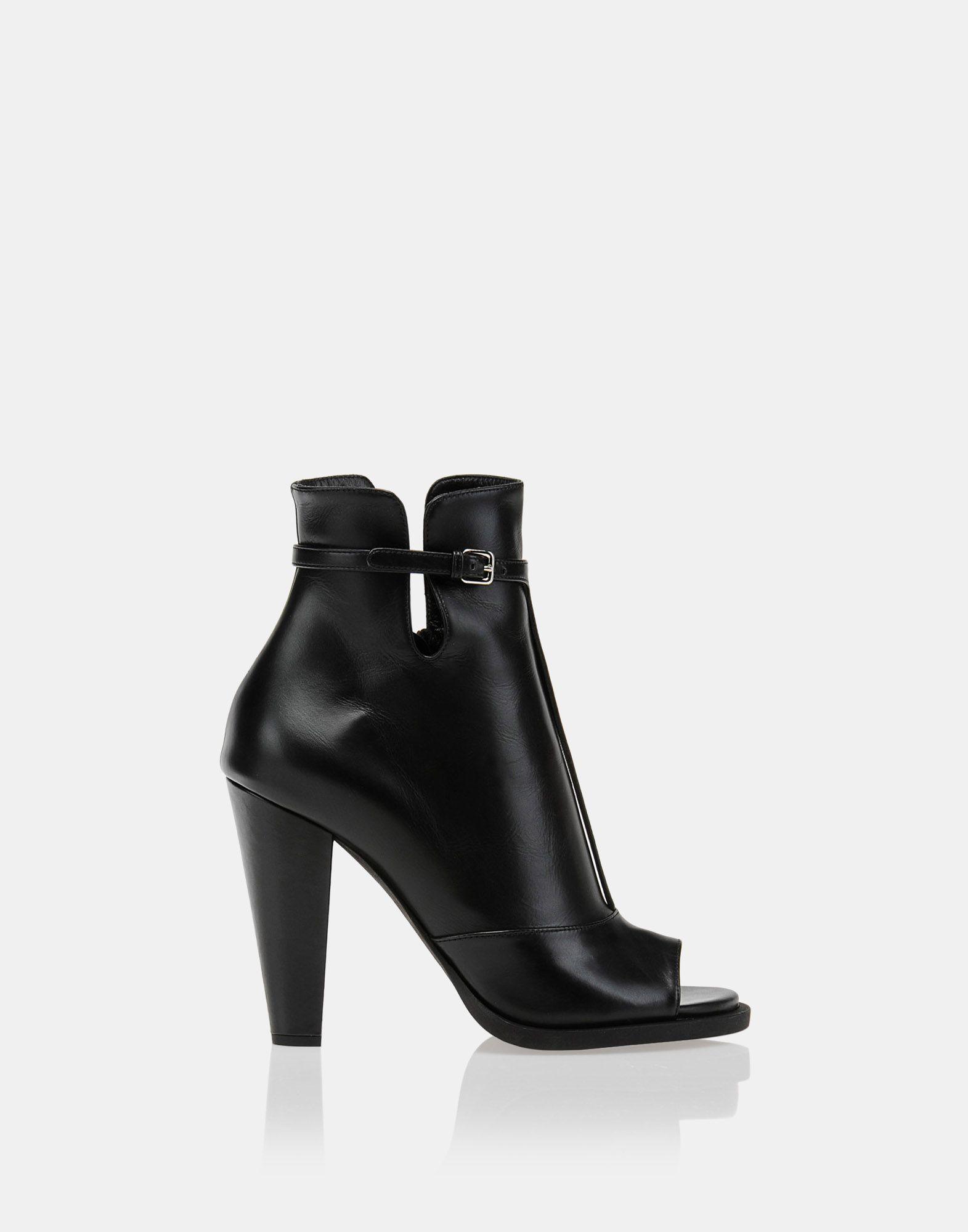 Jil Sander Open Toe Boots l2biN